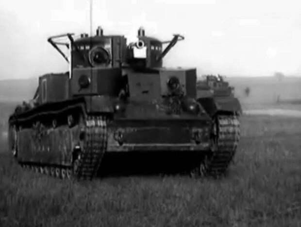 Советские танки предвоенного периода и Великой Отечественной войны: трёхбашенный Т-28