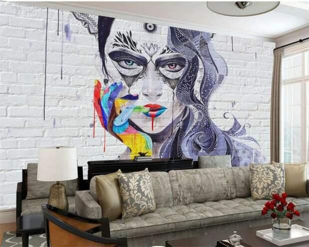 Граффити в интерьере: идеи и полезные советы
