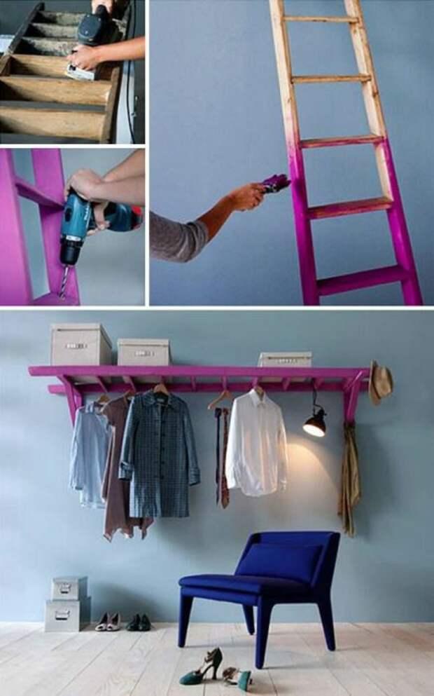 Оригинальная мебель, которую несложно сделать своими руками