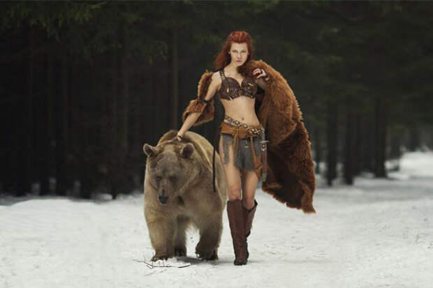 женщина-берсерк