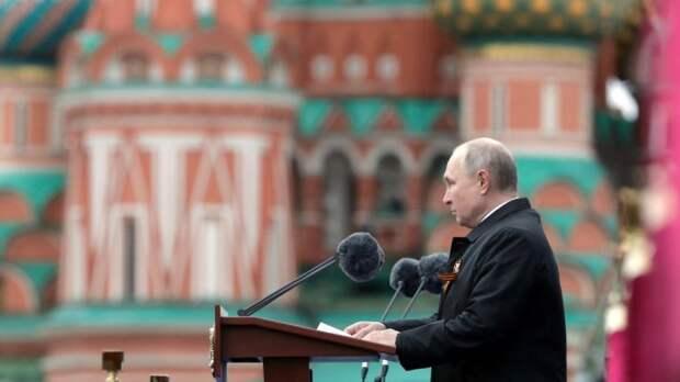 Хазин раскрыл суть тайного послания Путина США в праздничной речи 9 Мая