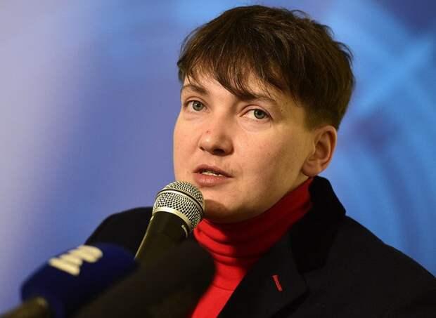 Савченко пожелала видеть главой Украины Путина вместо Порошенко
