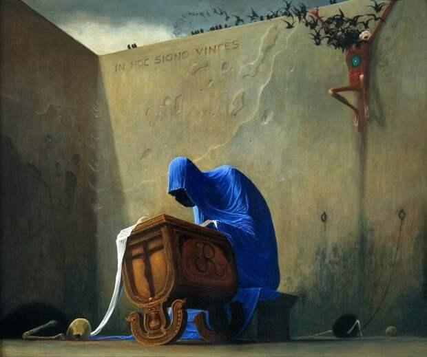 Надпись на латыни гласит: С этим знамением победишь. \ Фото: etleboro.org.