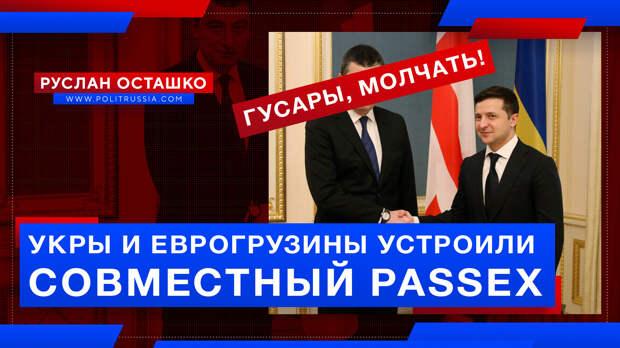 Укры и еврогрузины устроили совместный PASSEX