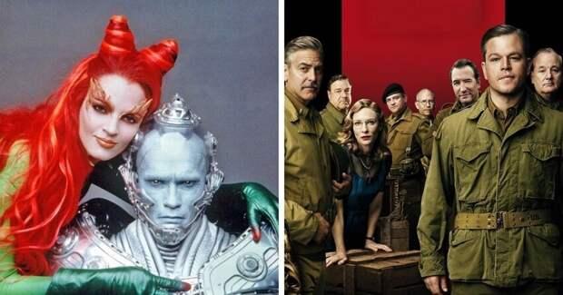 Фильмы смощным подбором актёров, которые неспасли ситуацию