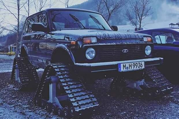 Тюнинг моделей Lada: что с ними творят иностранцы