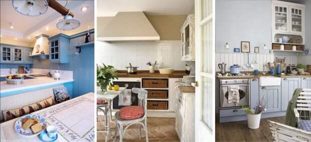 Создаем кухню в стиле Прованс с нуля