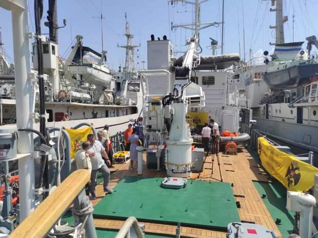 Черноморский флот предоставит дополнительное оборудование для поиска санитарного транспорта Белосток