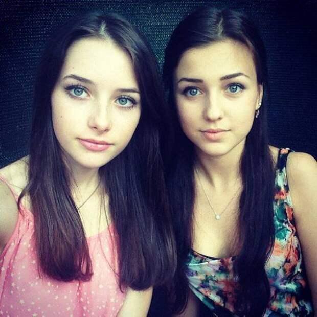 Красивые и милые девушки (51 фото)
