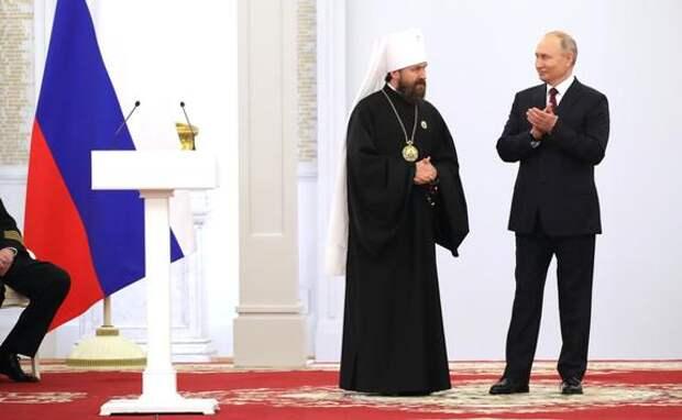 Митрополит Волоколамский Иларион удостоен Государственной премии