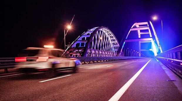 Почти 170 тысяч автомобилей проехало по Крымскому мосту за майские каникулы