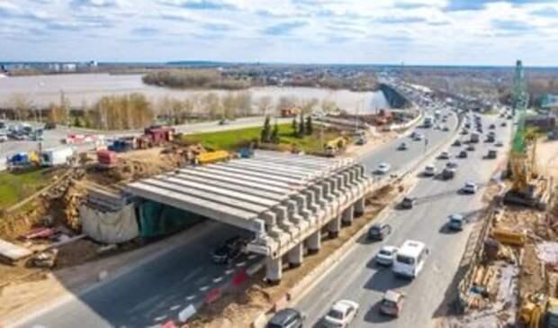 В Уфе сместились сроки завершения реконструкции путепровода на Заки Валиди