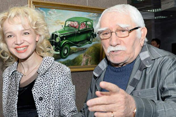 Цымбалюк-Романовская непришла проститься сАрменом Джигарханяном