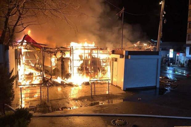 В Сочи загорелся рынок