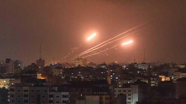 Более 600 ракет по Израилю выпустили из сектора Газа за сутки