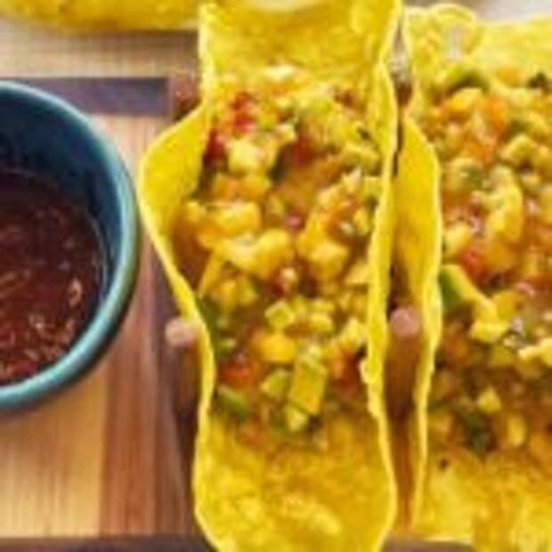 Мексиканские лепешки «Тортилья» с начинкой из Гуакамоле