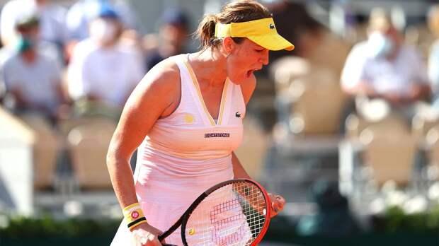Павлюченкова — о выходе в финал «Ролан Гаррос»: «Уже чувствуется усталость»