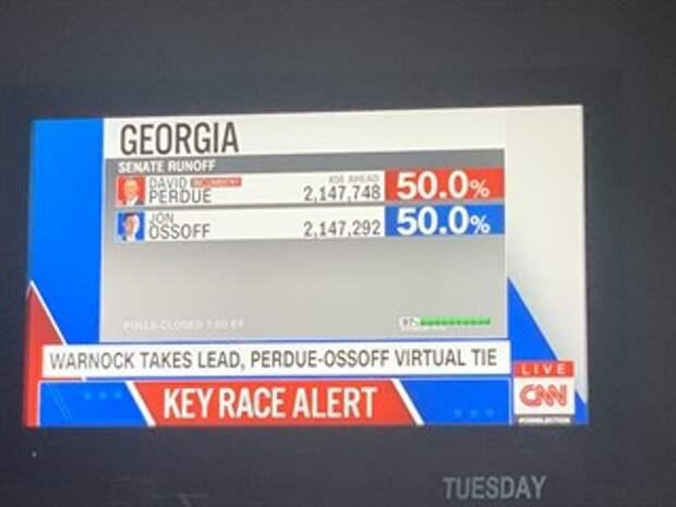 """Волшебные выборы в Джорджии от """"демократов"""""""