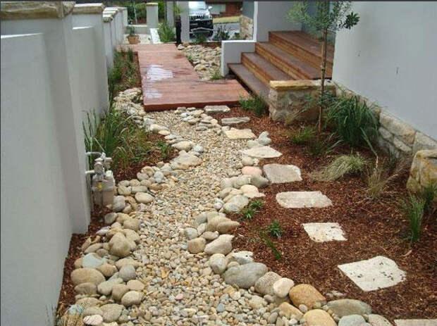 Садовая дорожка в дизайне маленького участка
