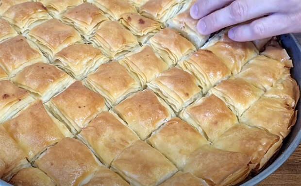 Печем пирог из турецкого пятизвездочного отеля