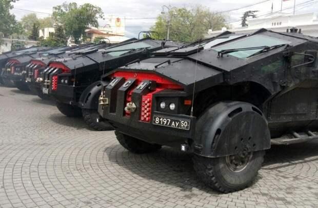 Российский автомобиль спецназа «Фалькатус»: что это за машина?