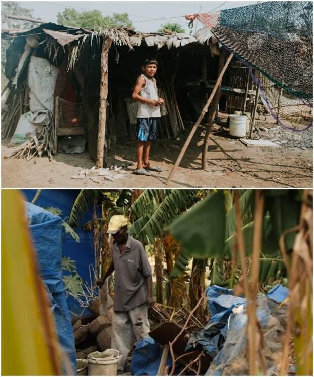 В рамках программы борьбы с бедностью было выбрано 50 семей.   Фото: newstorycharity. org/ newatlas.com.