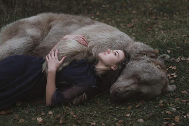 Фотограф Ольга Баранцева. Фотосессии с дикими животными и творческие портреты 8