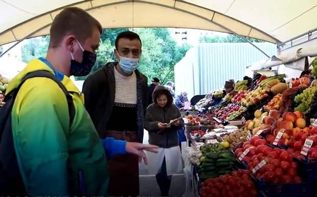 Видео: как работают ярмарки выходного дня в СЗАО