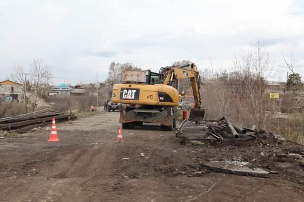 Улицы Баррикад и Трактовая начнут ремонтировать в Иркутске после демонтажа путепровода на Качугском тракте