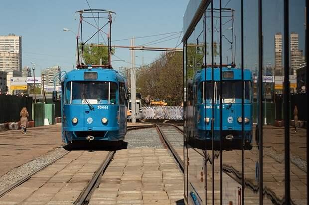 Трамвайный маршрут на востоке Москвы изменят с 15 июня