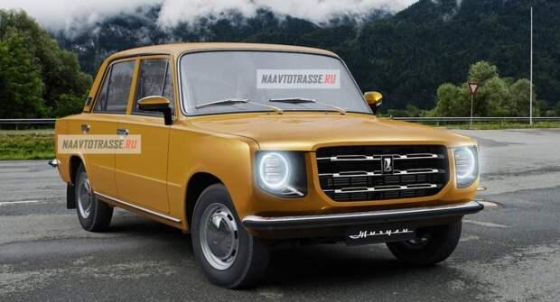 В Сети представили рендеры возрожденной модели ВАЗ-2101