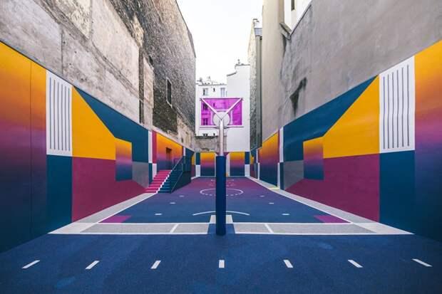 Баскетбольная площадка от Pigalle