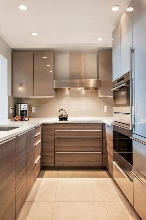 Бюджетный вариант и лучшее дизайнерское решение для маленькой кухни.