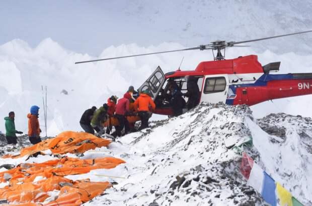 Эвакуационные операции на Эвересте