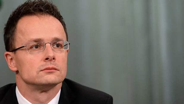 Глава МИД Венгрии Петер Сийярто. Архивное фото