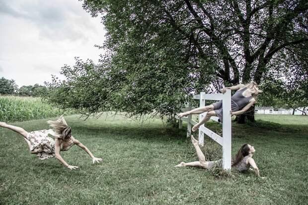Танцоры-акробаты бросают вызов гравитации
