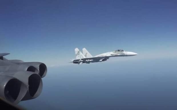 Перехват B-52 над Черным морем