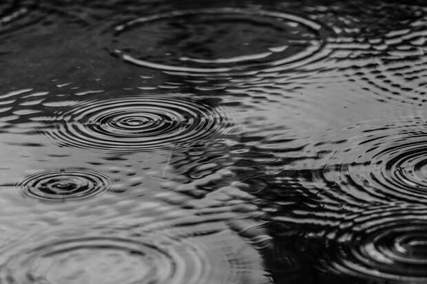 Лужа, Воды, Дождь, Природа, Серая Природа, Серая Вода