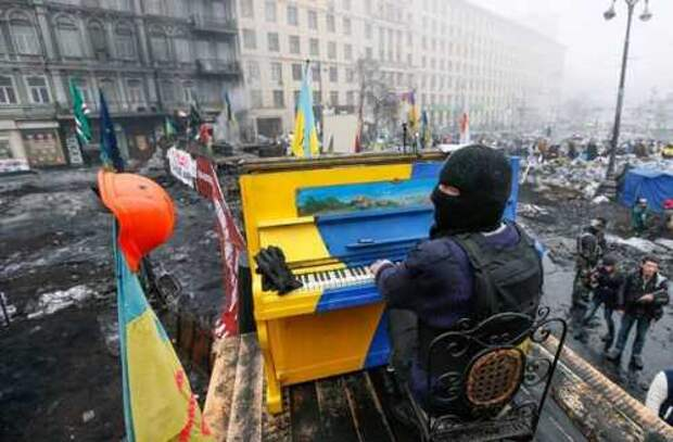 Пианино с майдана продали американцам – как и Украину