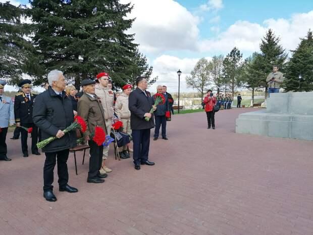 День Победы Ржев - город воинской славы - отметил с размахом