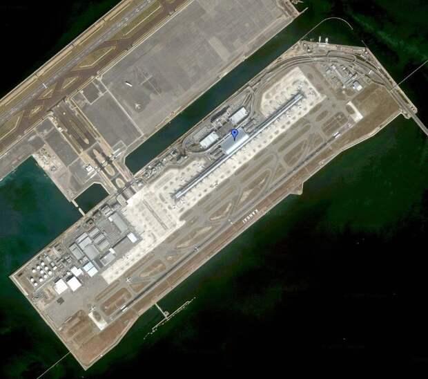 МИР ВОКРУГ. Аэропорт в море