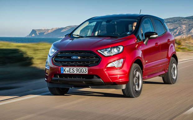 Обновленный Ford EcoSport – тест-драйв «За рулем»