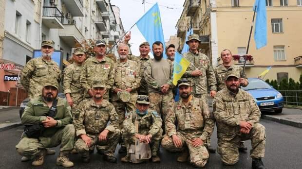 Бежавшие из Крыма воевать против Донбасса боевики оказались не нужны Украине