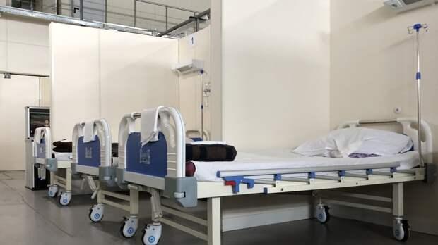 Койки для пациентов с COVID-19 развернули еще в одной петербургской больнице