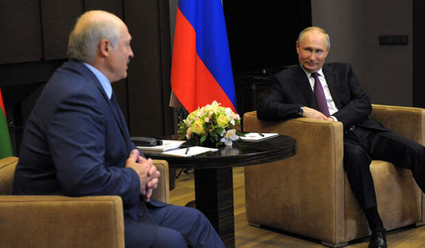 Как в Сочи прошла встреча Владимира Путина и Александра Лукашенко