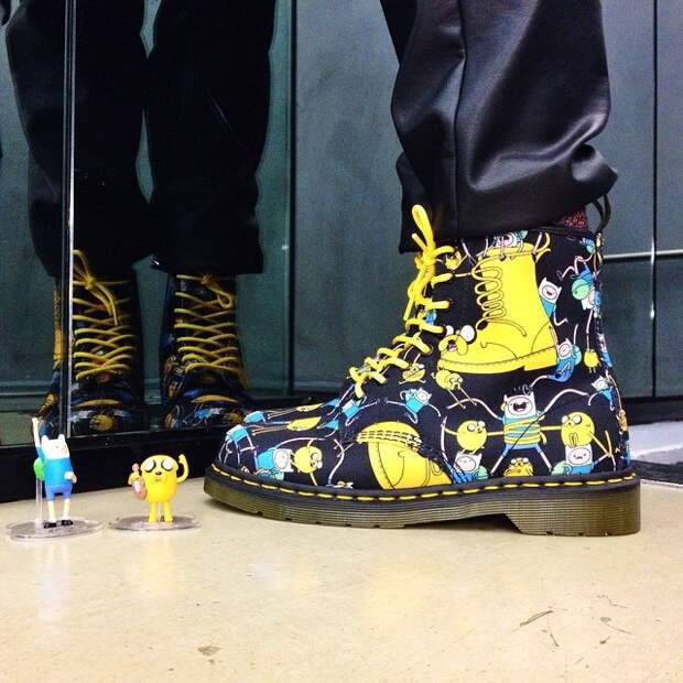 Adventure Time & Dr Martens