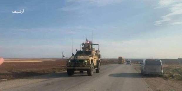 США перебрасывают в Сирию дополнительную боевую технику
