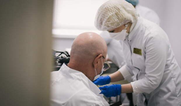 В Бузулуке прививку от COVID сделали 8 000 жителей