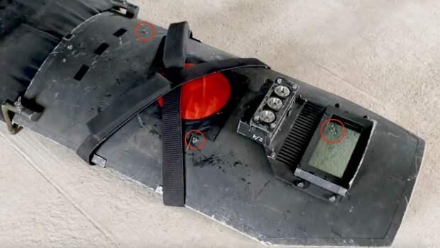 Это щит спецназа, бравшего вчера утырка-террориста под Симферополем. Три попадания