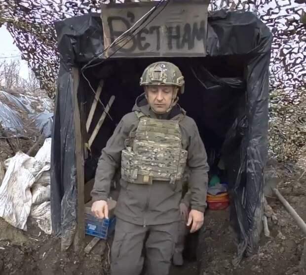 Зеленский и путинские снайперы